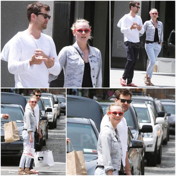 2 Mai 2011 - Diane et Joshua dans les rues de New York