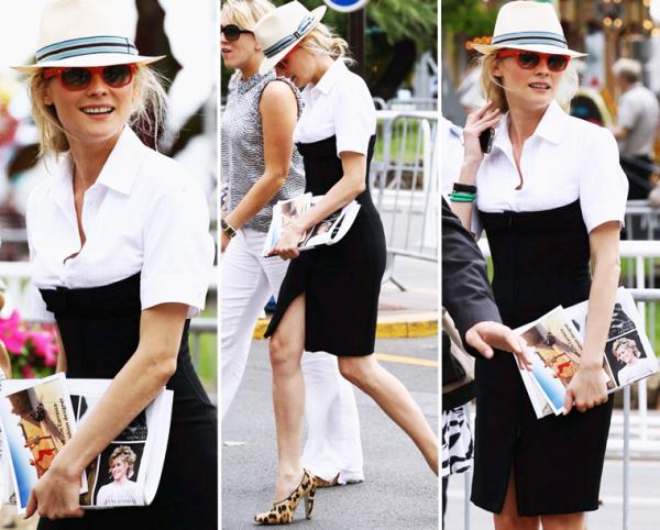 13 Mai 2011 - Diane dans les rues de Cannes