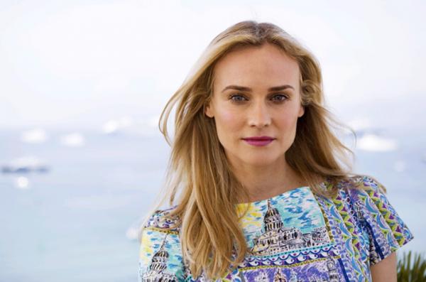 Photoshoot : Diane pose durant le Festival de Cannes