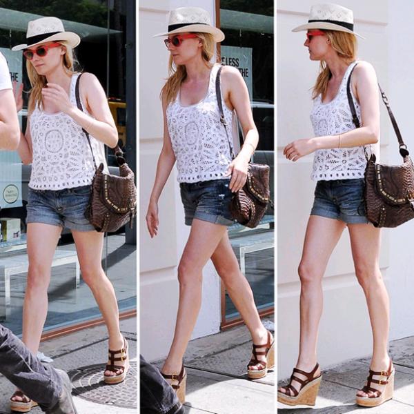 3 Juin 2011 - Diane et Joshua dans les rues de Los Angeles