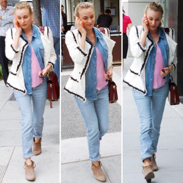8 Juin 2011 - Diane dans les rues de Los Angeles