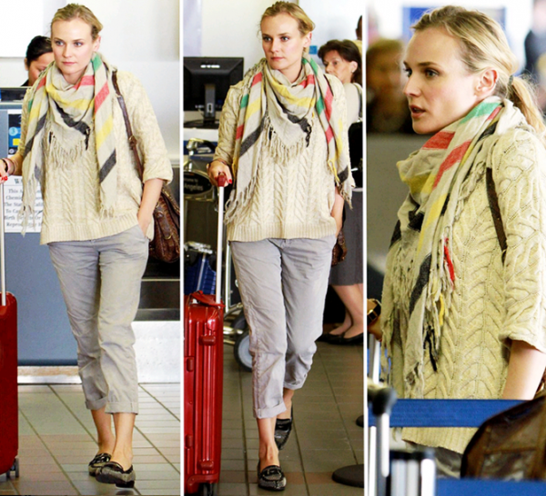 9 Juin 2011 - Diane à l'aéroport de Los Angeles