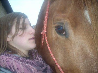 L'équitation c'est toute ma vie..!