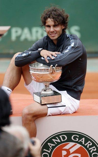 Roland Garros - Rafael  Nadal, seul sur sa terre