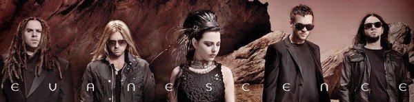 Pages officiels : Evanescence et les membres du groupe !