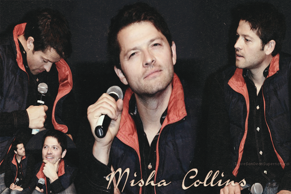 Misha Collins - Castiel Créa by § Déco by §