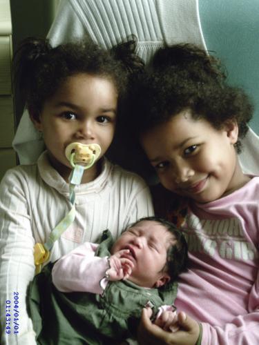 mes proches mes filles que j'adore