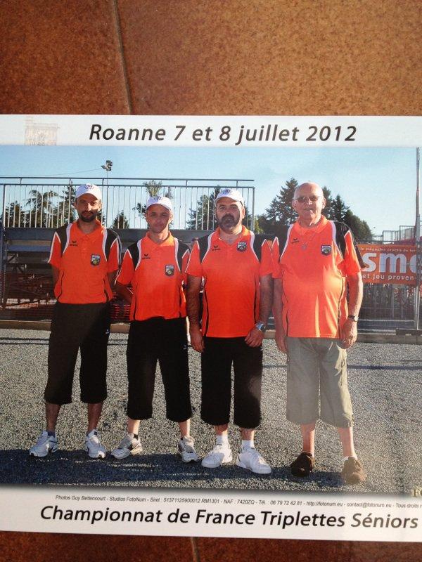 moi au championnat de France de pétanque ce weekend
