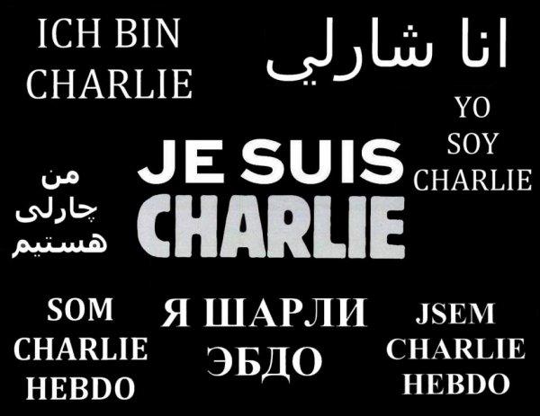Je suis Charlie !!! <3