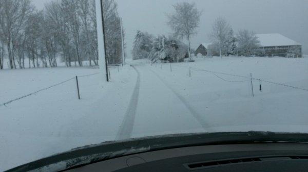 La neige sur nos routes
