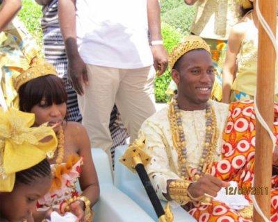 cte divoire stars et people au mariage de didier drogba - Fally Ipupa Mariage