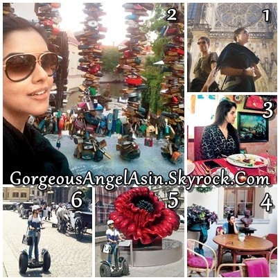 Asin goes holidaying in Prague with friends