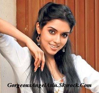 Gorgeous Angel Asin : Asin Thottumkal