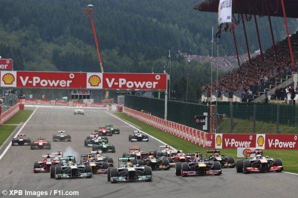 Grand Prix de Belgique à Spa-Francorchamps !