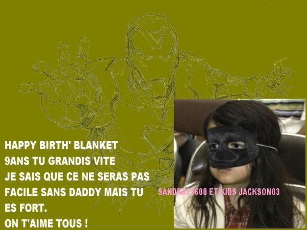 Happy birthday Blanket+Des photos en plus pour vous ceux de l'anniversaire de Blanket !!