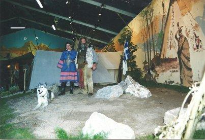 Notre  loup Wambly  Wiska et Perdrix des  Neiges