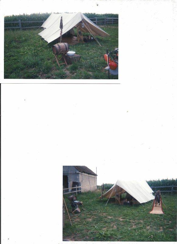 la  tente  de trappeur