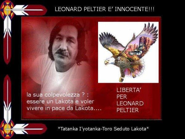 Liberté pour Monsieur Léonard Peltier