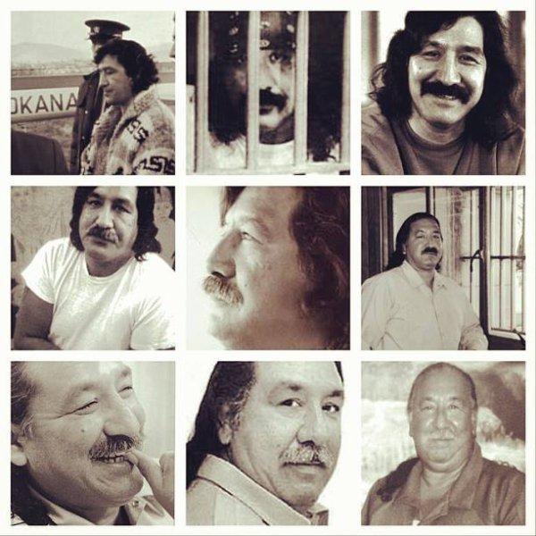quelques photos de notre ami a  tous Léonard Peltier en espérant sa libération