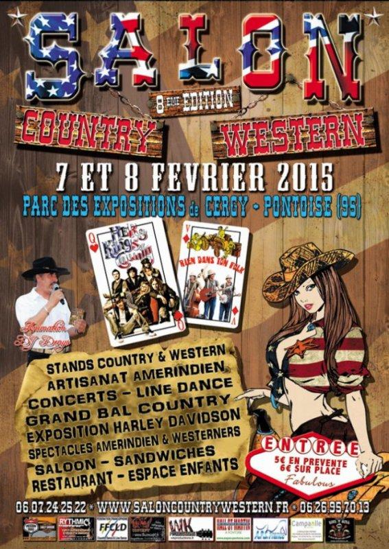 8 em Salon Country Western a Cergy Pontoise 7 /8 Février 2015