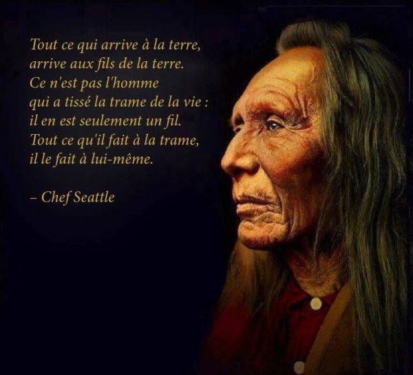 sages paroles du chef Seatle