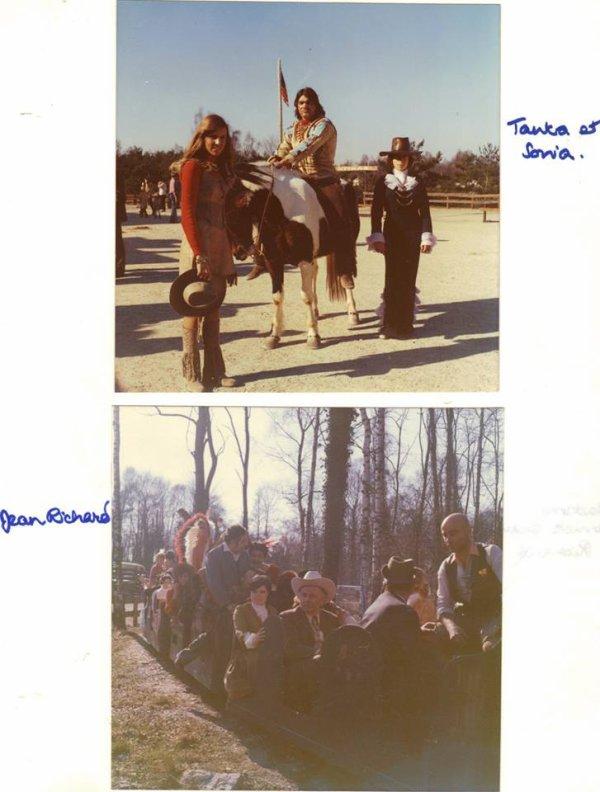 Tanka (bob kelly) et en noir Madame Sonia Lazaref et Anida