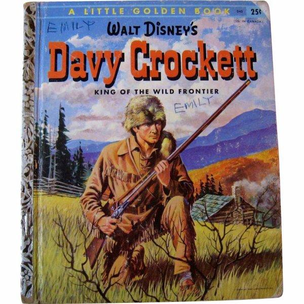 Davy Crockett le roi de la  frontier