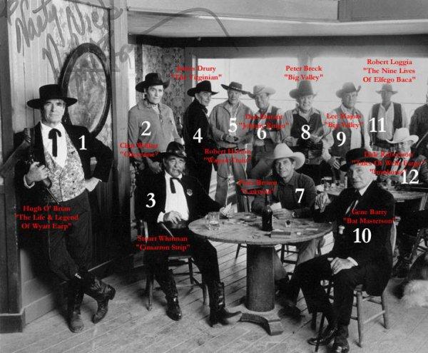 les acteurs westerns  des séries téléviser