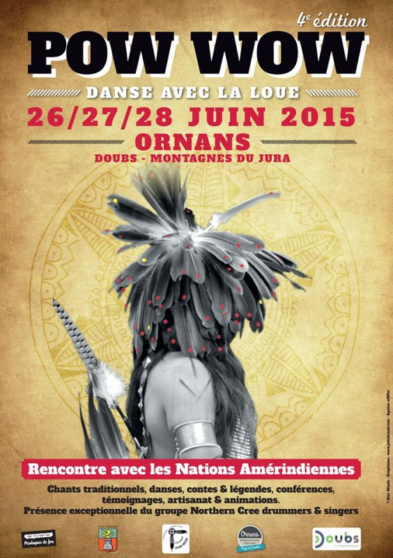 4e éditions du Pow Wow d'Ornans dans le doubs