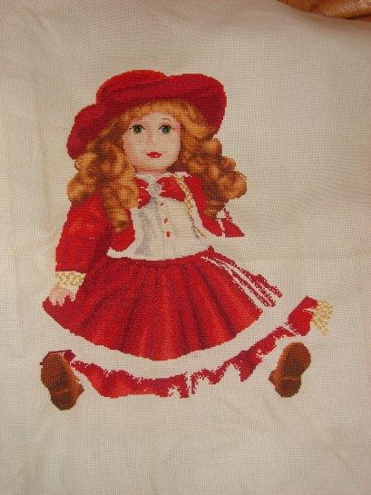 poupée rouge. 6 suite