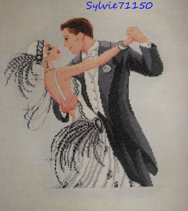 Couple dansant fini...