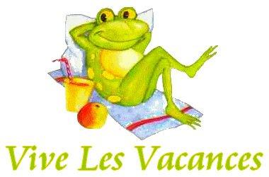 Vacances vacances...
