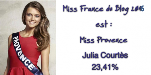 L'élection de Miss France du Blog (2016)