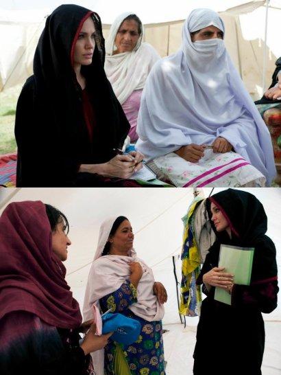 Angie au Pakistan