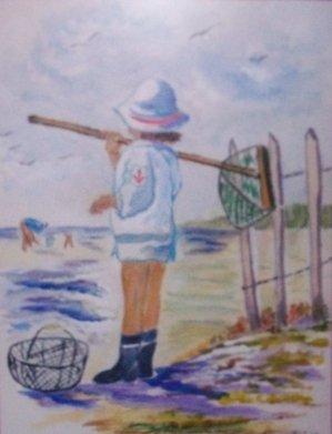 UNE PETITE PAUSE  : Présentation de mes réalisations à l'aquarelle : Bisous à tous !