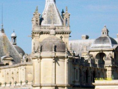 LA COMTOISE : PARUTION COURANT OCTOBRE : VISITE  DE CHANTILLY :  SUITE  !
