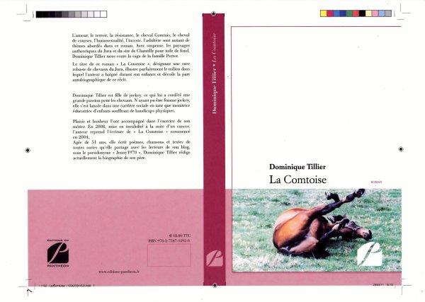 PARUTION DE LA COMTOISE ET DEDICACE A CHANTILLY  : Le  19  NOVEMBRE 2011 LIBRAIRIE PLACE OMER WALLON