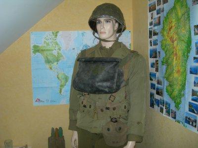Mannequin soldat us ...