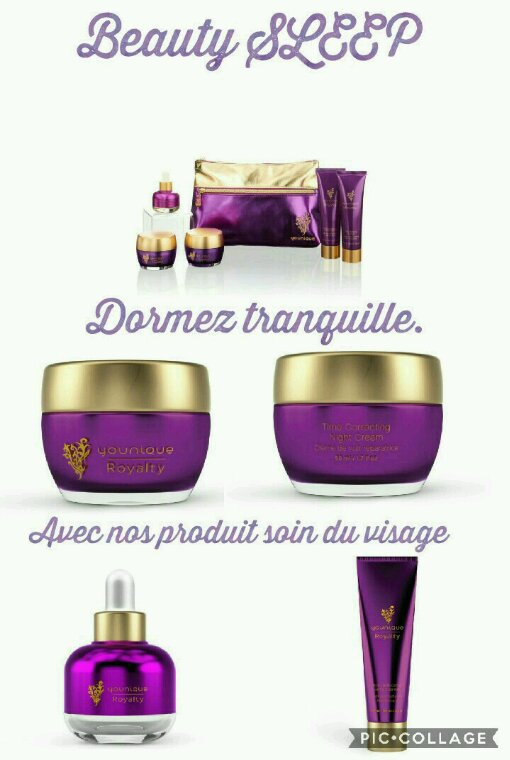 Collection soin du visage.