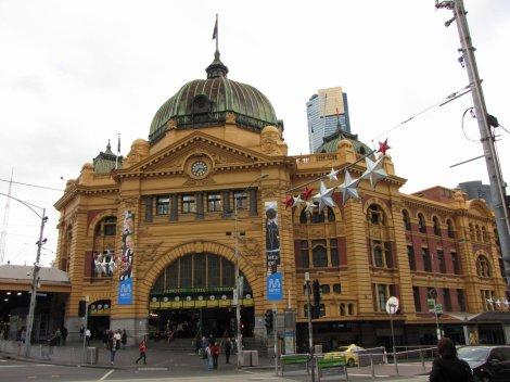 Il y a un an : mardi 8 décembre 2009 : Melbourne, sous la pluie