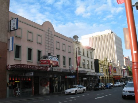 Il y a un an : mercredi 9 décembre 2009 : Tasmanie - Hobart