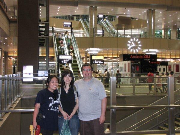 Osaka - Gare d'Osaka - Bye bye Teruko !