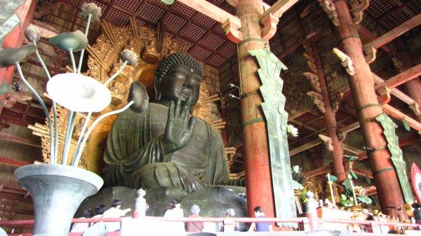 Nara - Tōdai-ji - Bouddha