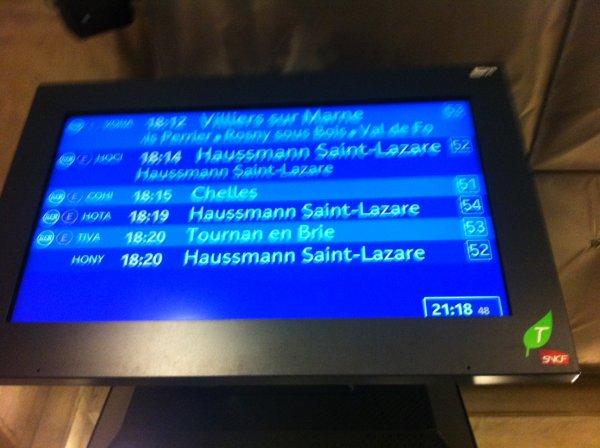 SNCF : prochain train dans 21h !