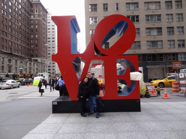 NEW YORK - LOVE