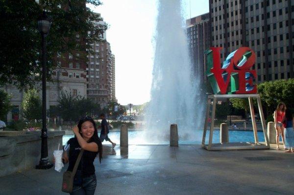 Souvenir 2006, LOVE de Philadelphie