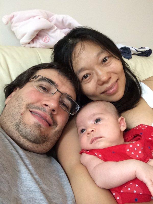 Selfie de famille