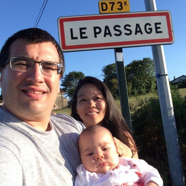 """De passage a """"le passage"""" !"""