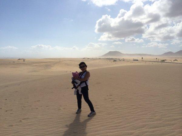 Desert près de Corralejo