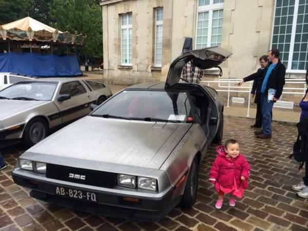 Célestine découvre Retour vers le futur